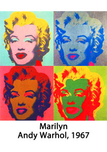 Andy Warhol's Marilyn